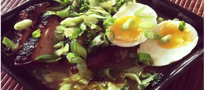ramen suppe med and