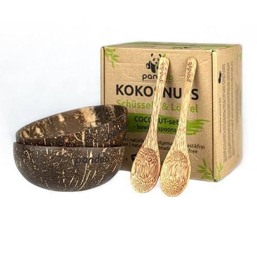 Skåle af kokosnød