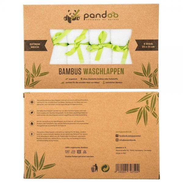 Bambus vaskeklude