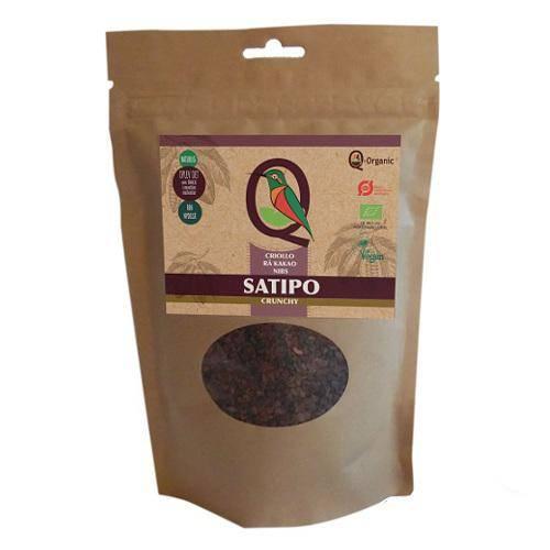 Økologisk og vegansk Criollo rå kakaonibs