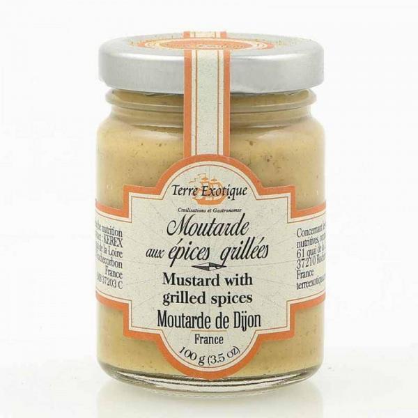 Dijonsennep med grillede krydderier 100g