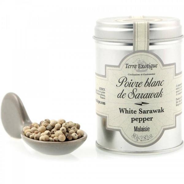 Hvid sarawak peber